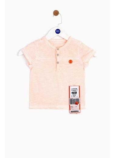 BG Baby Erkek Bebek Neon Oranj T-Shirt Oranj